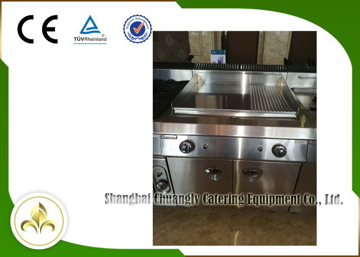 Griddle Commercial Induction Wok Cooker Cabinet High Efficiency