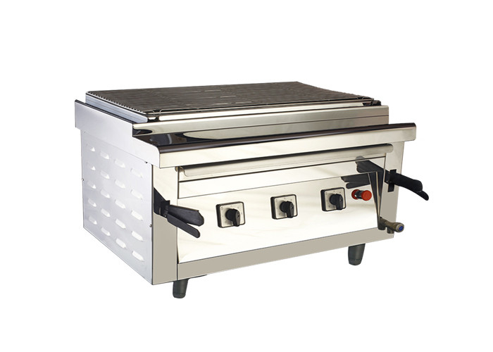Height Adjustable Barbecue Chicken Grill Machines Electric Heating Smokeless Grill Oven