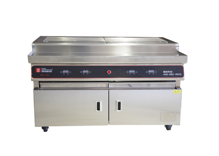 1000mm Grilling Area BBQ grill Charcoal Type Restaurant Barbecue Chicken Grill Machines