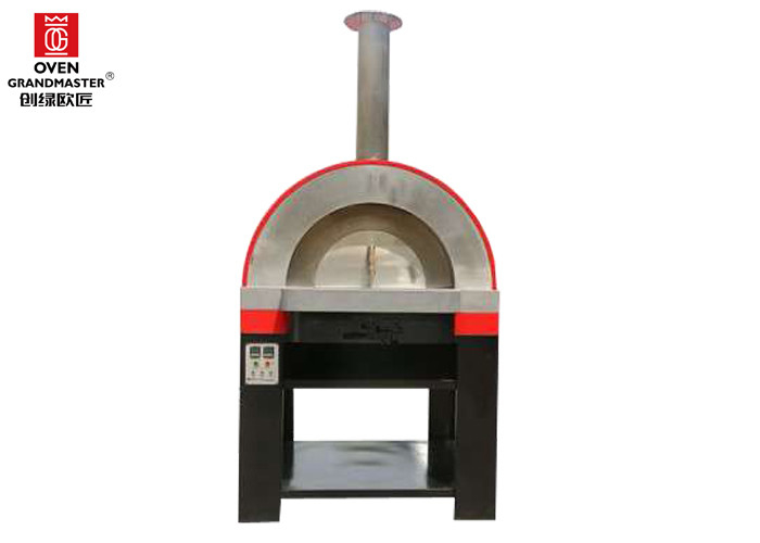 Small Home Use Gas Heating Pizza Oven With Protective Device