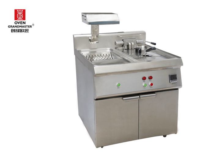 Fryer Used for Making Delicious  French Fries and Fried Chicken with Temperature Control